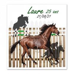 Faire-part cheval équitation
