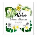 Faire-part aloha