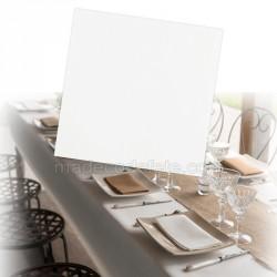 Serviettes intissées blanches x 25