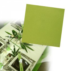 Serviettes intissées vert kiwi x 25