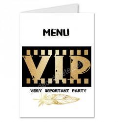 Menu thème VIP