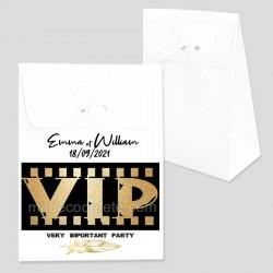 Boîte dragées thème VIP