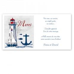 Remerciement maritime