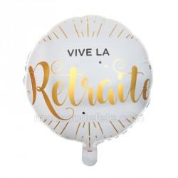 Ballon alu Retraite 45 cm