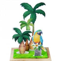 Décor palmier