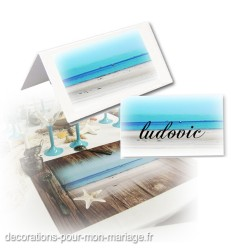 24 marque-place plage mer