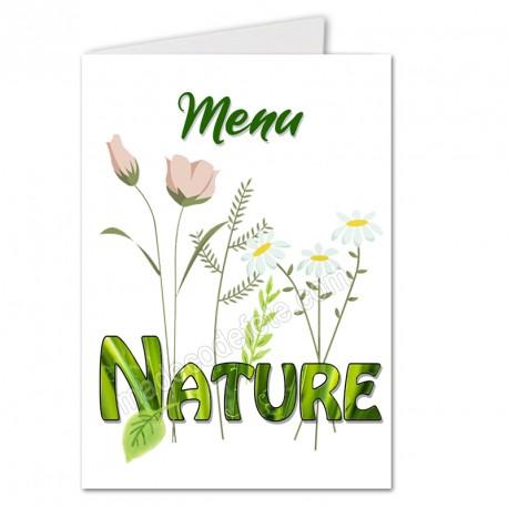 """Menu mot """"nature"""""""