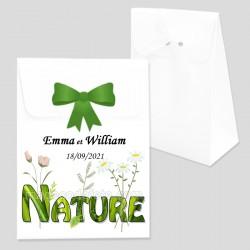 Boîte dragées mot nature