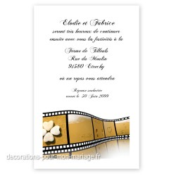 Invitation repas plage photo