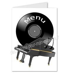 menu musique piano