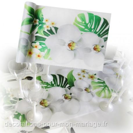 chemin de table orchidée à moins de 5 euros