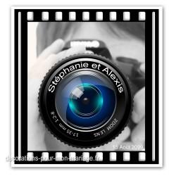 Faire-part thème photographie