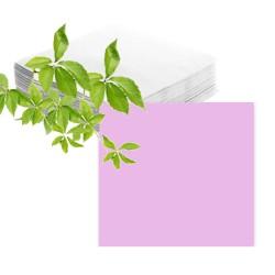 100 serviettes papier rose
