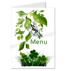 menu nature