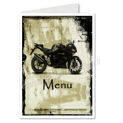 menu motif moto