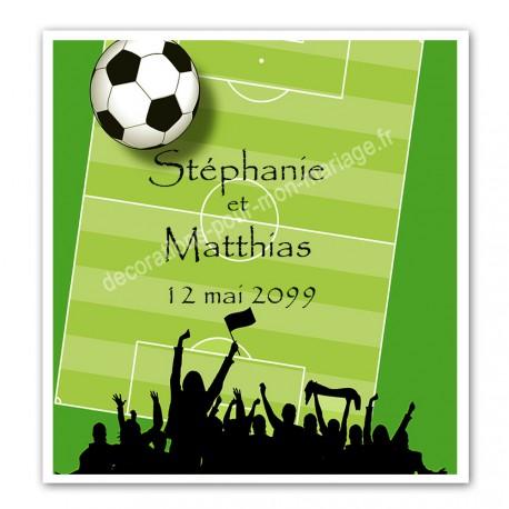 Faire Part Mariage Anniversaire Football