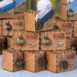 Boîte à dragées air mail