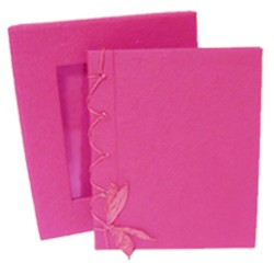 Livre d'or mariage rose fuchsia