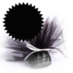 50 tulles dragées noir