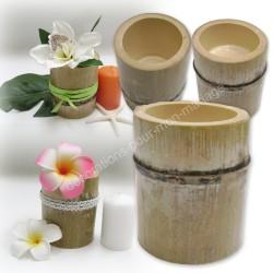 Bambou deco table