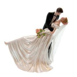 Figurine mariage renversé