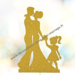Figurine cake et enfant
