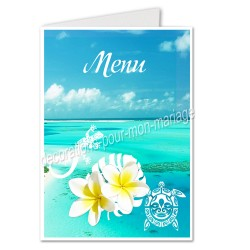 menu Polynésie bleue