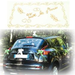 Déco voiture ivoire