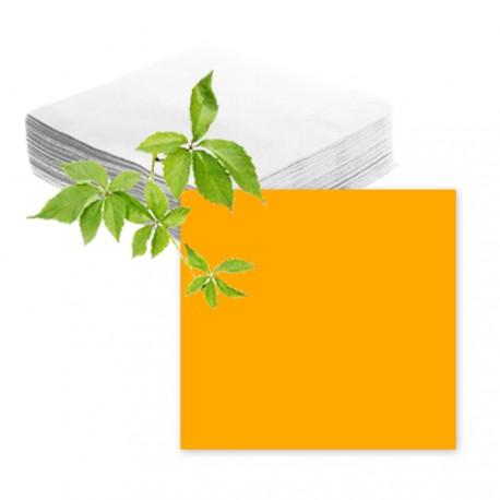 Serviettes papier mandarine