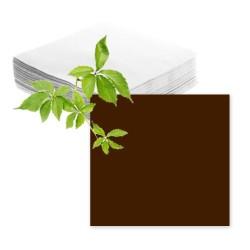 Serviettes papier marron