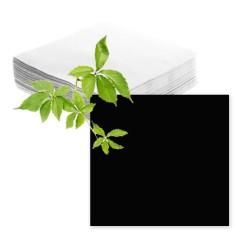 Serviettes papier noires