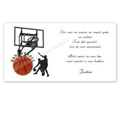 remerciement basket