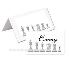 24 marque-place échecs