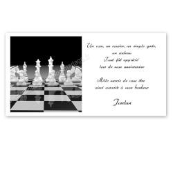 remerciement sur les échecs