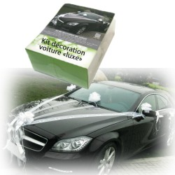 Kit décoration voiture mariage