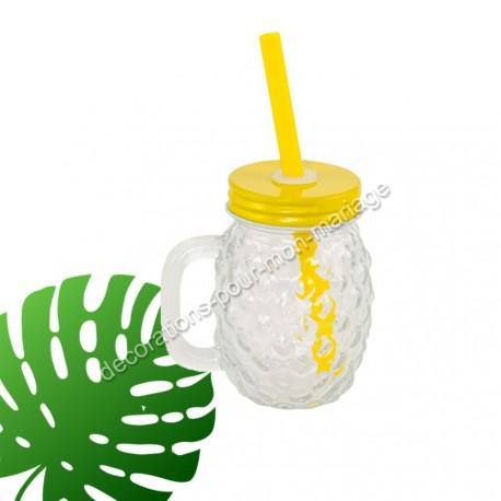 Petit verre ananas