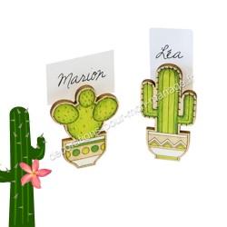 2 Porte-nom cactus