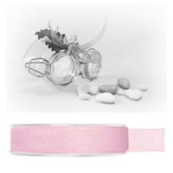 Ruban organdi rose