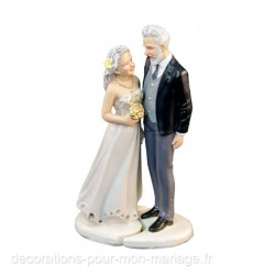 Figurine mariage sénior
