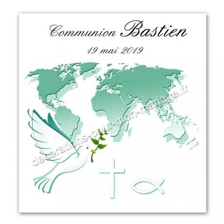 Faire-part communion ade