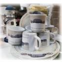 Set assiettes mugs marin x6