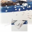 Perle de pluie blanche