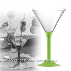 Coupe cocktail anis
