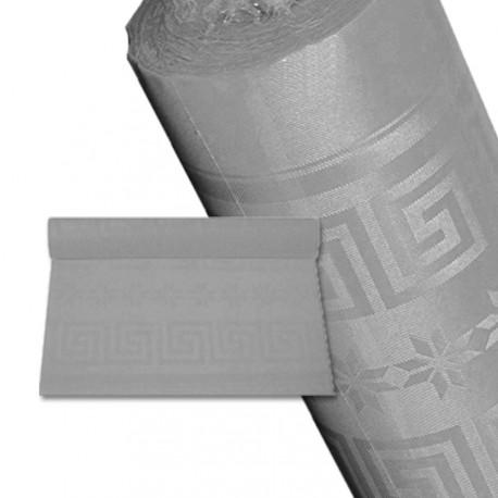 Nappe papier 25 m gris