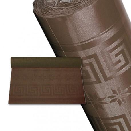 Nappe papier 25 m chocolat