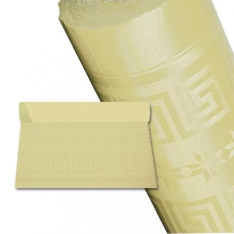 Nappe papier 25 m ivoire