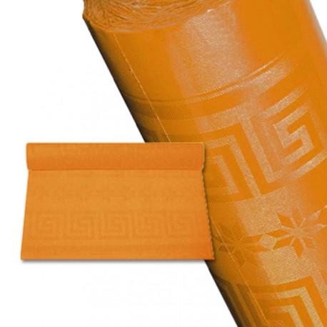 Nappe papier 25 m orange