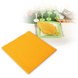 Serviettes intissées mandarines