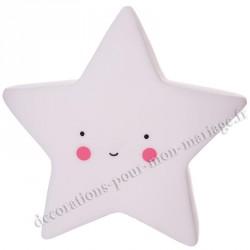 Veilleuse étoile led déco chambre bebe