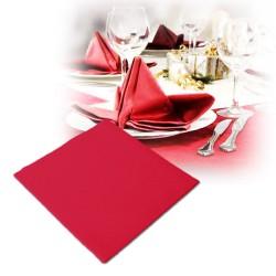 Serviettes intissées rouge